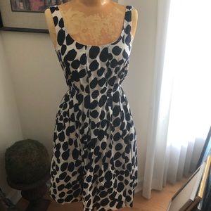 J Crew little polka dot sleeveless dress